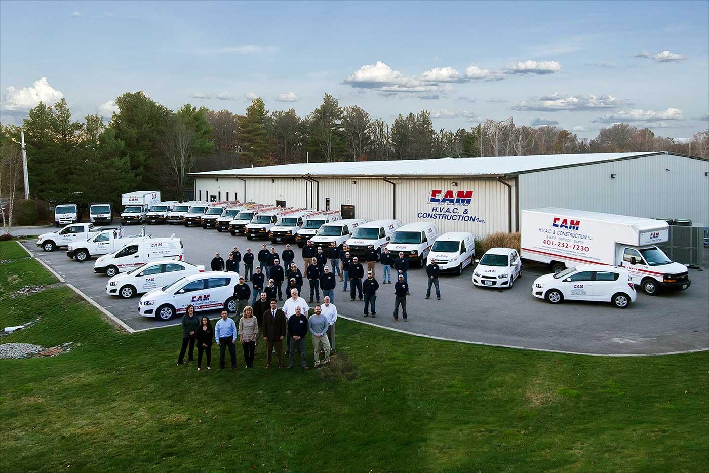 CAM HVAC & Construction Inc. Team